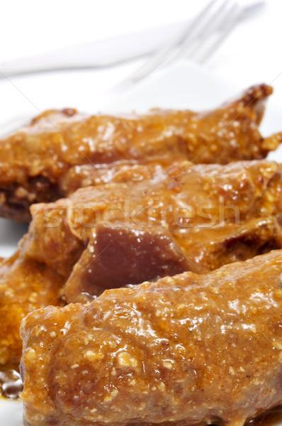 Viande serrano jambon fromages Photo stock © nito