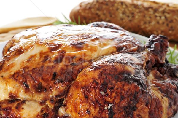 Törökország közelkép felszolgált asztal étel vacsora Stock fotó © nito