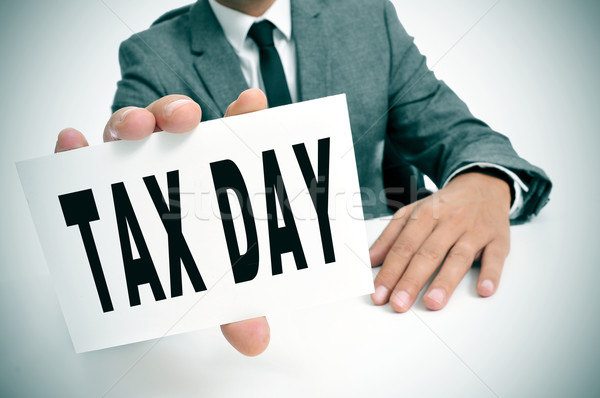 tax day Stock photo © nito