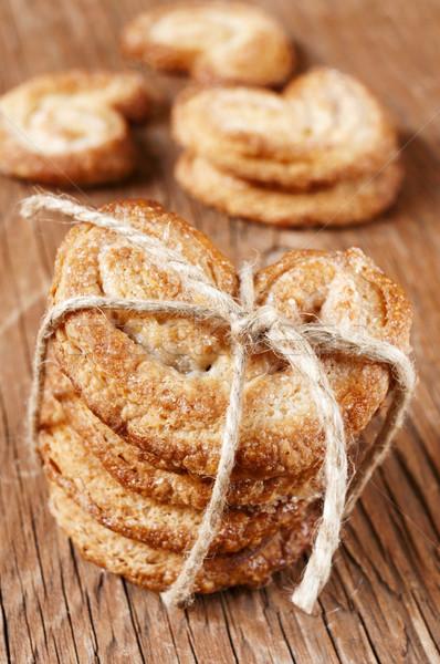 some palmeras, spanish palmier pastries Stock photo © nito