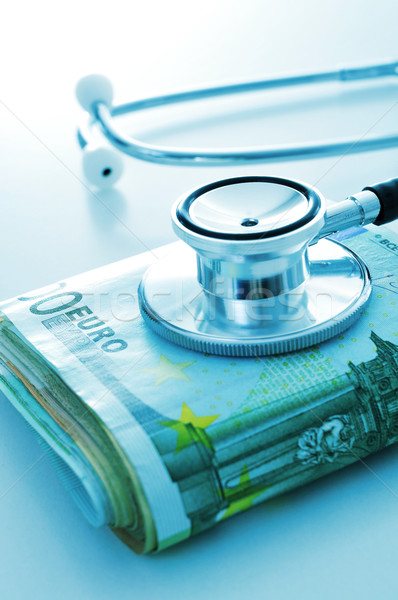 health care industry or health care costs Stock photo © nito
