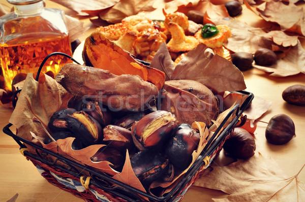 Tatlı patates tipik sepet Stok fotoğraf © nito