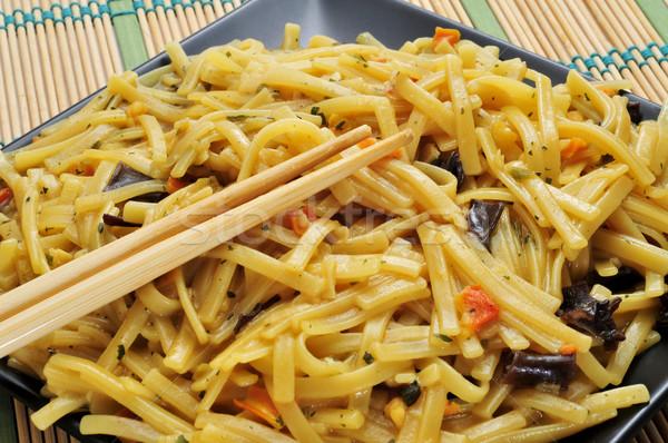 japanese noodles Stock photo © nito