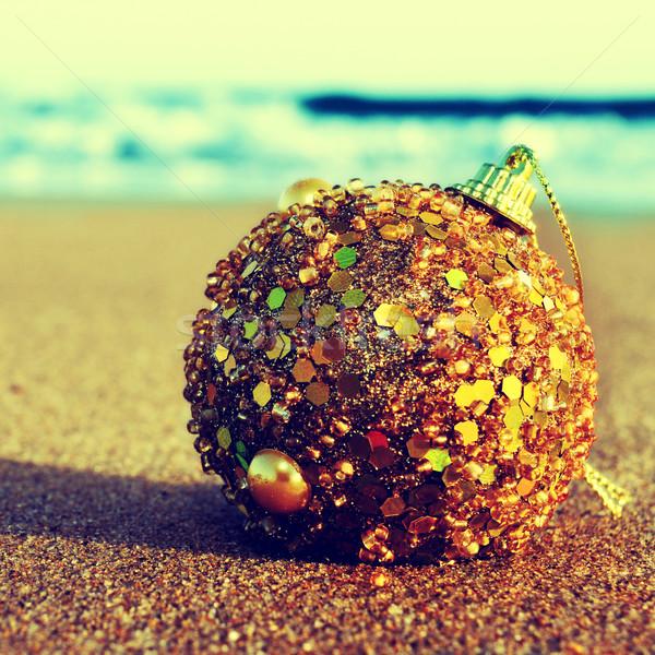christmas on the beach Stock photo © nito