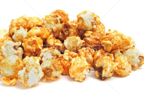 Karamel mais witte bioscoop Stockfoto © nito