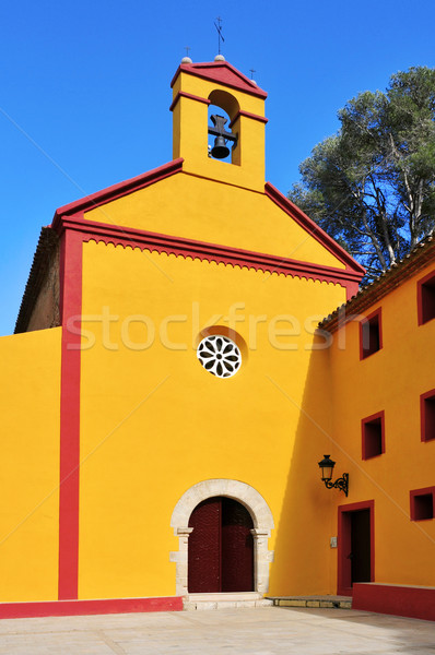 Shrine of Santa Marina, Pratdip, Spain Stock photo © nito