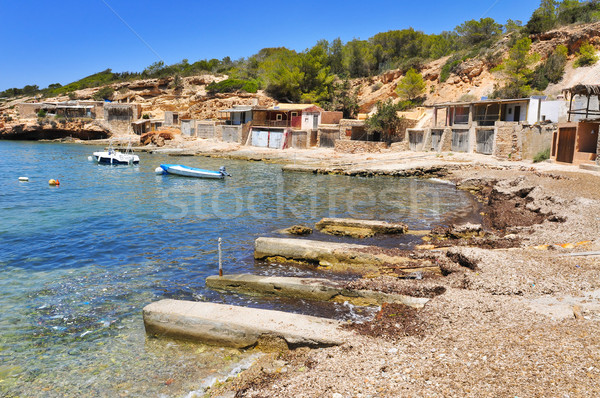 Cala Corral cove in Ibiza Island, Spain Stock photo © nito