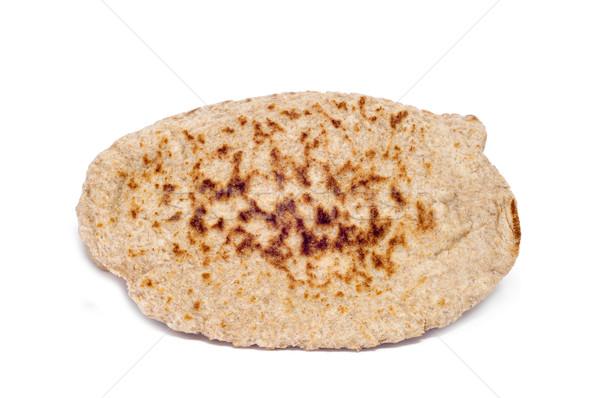 Pita chleba żywności zdrowia śniadanie biały Zdjęcia stock © nito