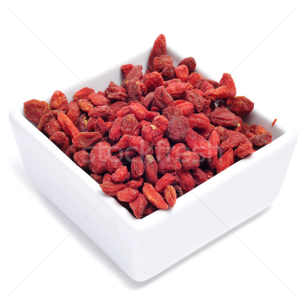 Stock photo: dried goji berries