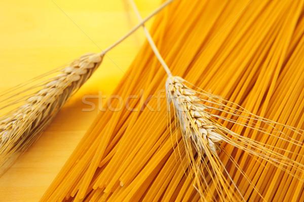 uncooked spaghetti Stock photo © nito
