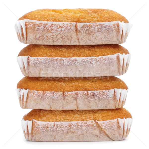magdalenas largas, typical spanish plain muffins Stock photo © nito
