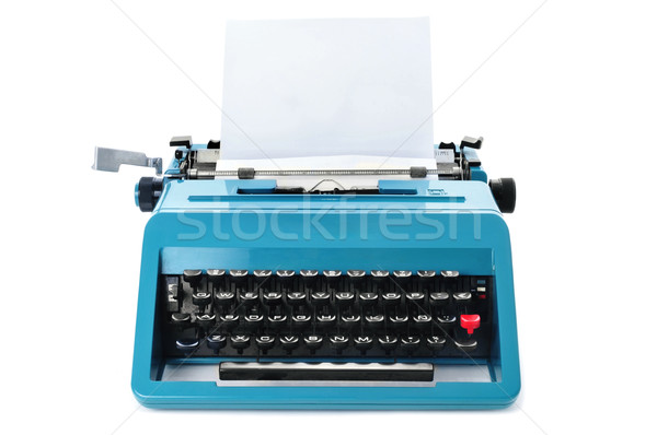 retro typewriter Stock photo © nito