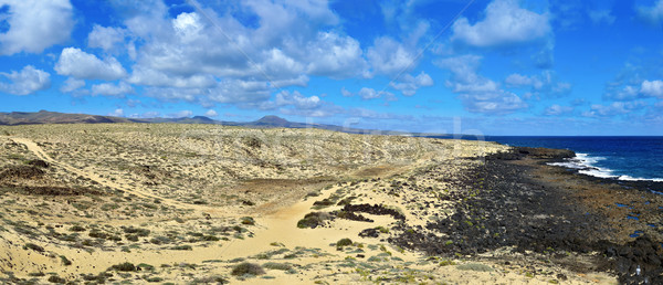 northeastern coast of Lanzarote, Canary Islands, Spain Stock photo © nito