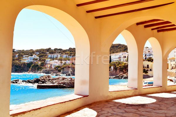 Calella de Palafrugell, Spain Stock photo © nito