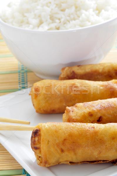 中国食品 クローズアップ プレート 春 ボウル ストックフォト © nito