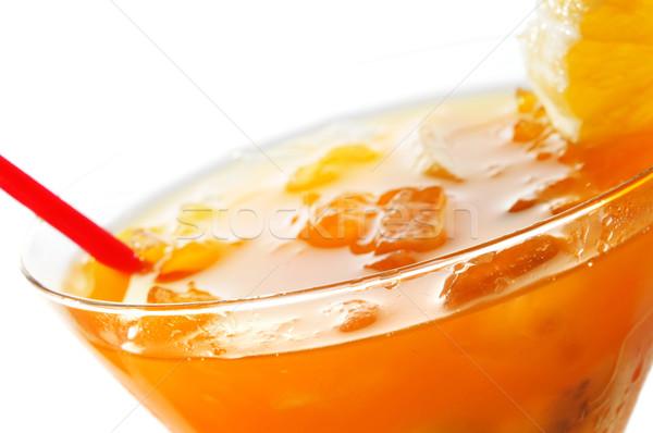 фрукты коктейль стекла льда Сток-фото © nito