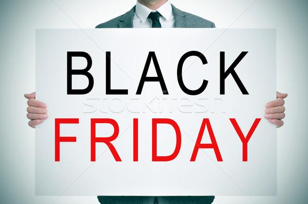 black friday Stock photo © nito