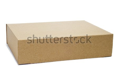 cardboard box Stock photo © nito