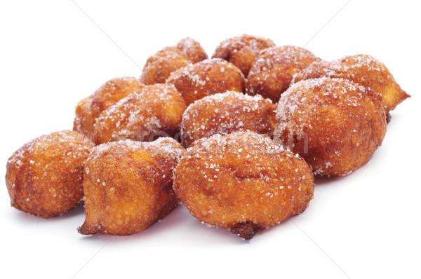 bunyols de Quaresma, typical pastries of Catalonia, Spain, eaten Stock photo © nito