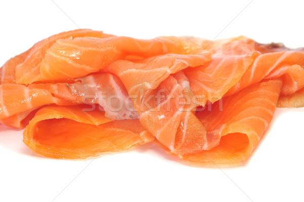 Fatias branco peixe saúde Foto stock © nito