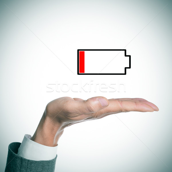 low battery Stock photo © nito