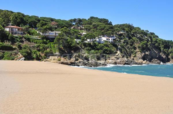 Sa Riera beach in the Costa Brava, Spain Stock photo © nito
