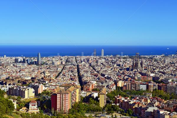 Барселона Испания морем путешествия Сток-фото © nito