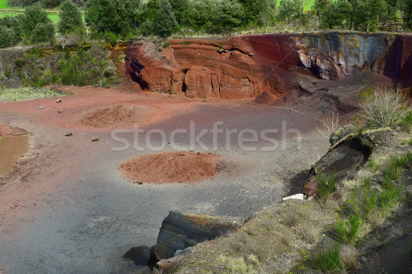 Croscat Volcano in Olot, Spain Stock photo © nito