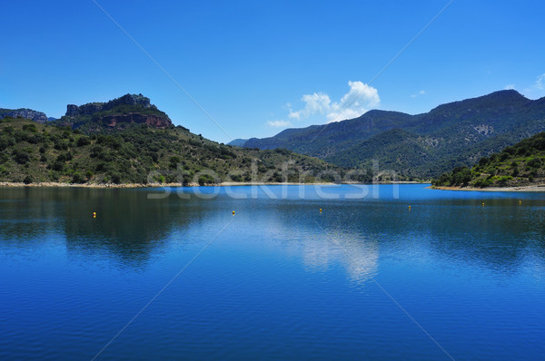 Siurana Reservoir in Tarragona Province, Spain Stock photo © nito