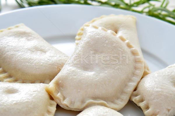 Espanhol pequeno carne atum tortas Foto stock © nito