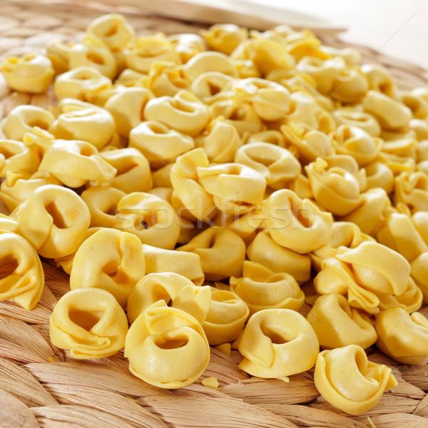 uncooked tortellini Stock photo © nito