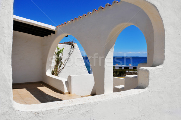 mediterranean village Stock photo © nito