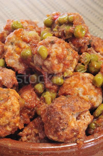 spanish meatballs Stock photo © nito