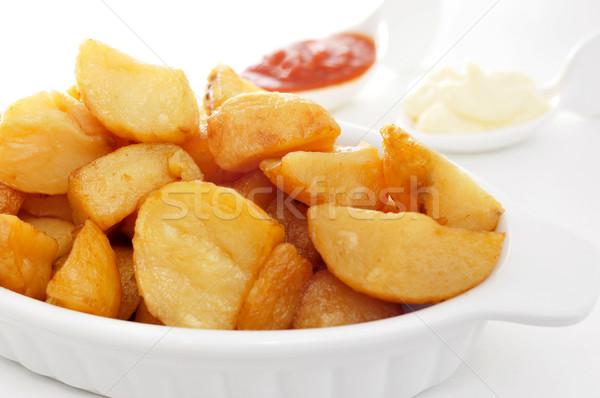 Typisch spaans hete saus Stockfoto © nito