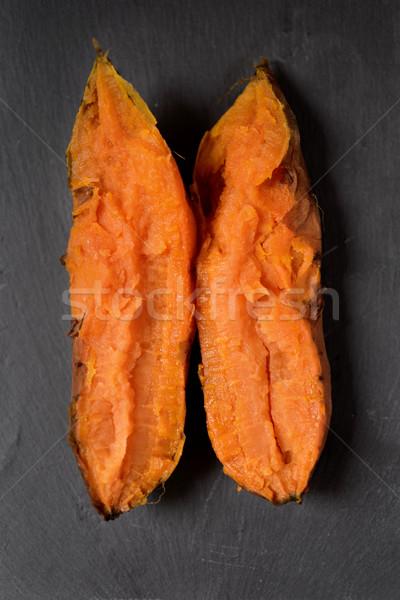 roasted sweet potato Stock photo © nito