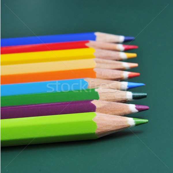 coloured pencils Stock photo © nito