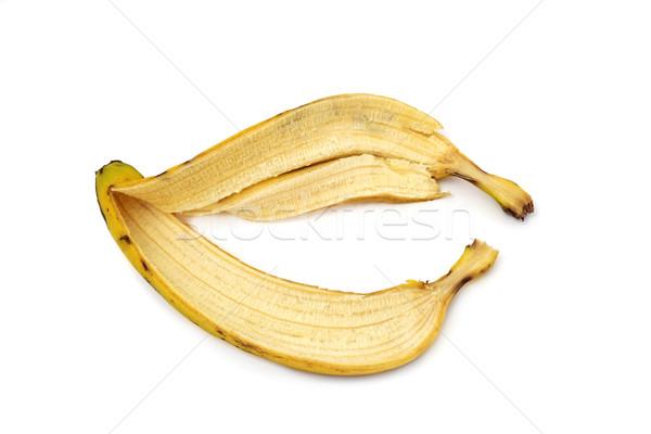 the skin of a banana Stock photo © nito