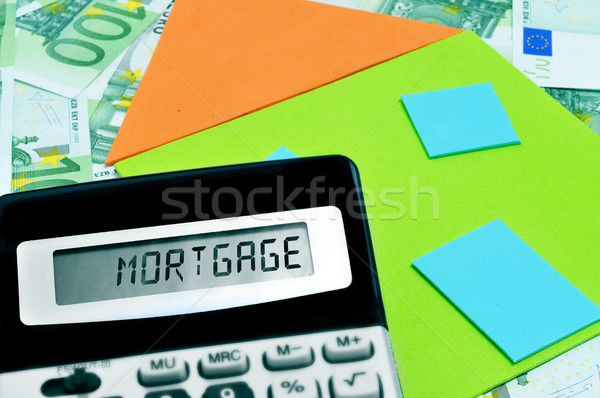 mortgage Stock photo © nito