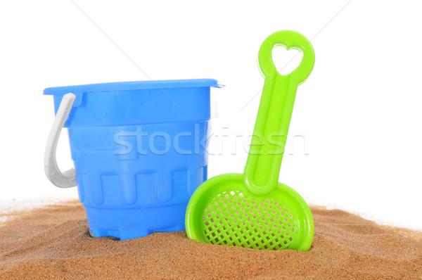 beach toys on the sand Stock photo © nito