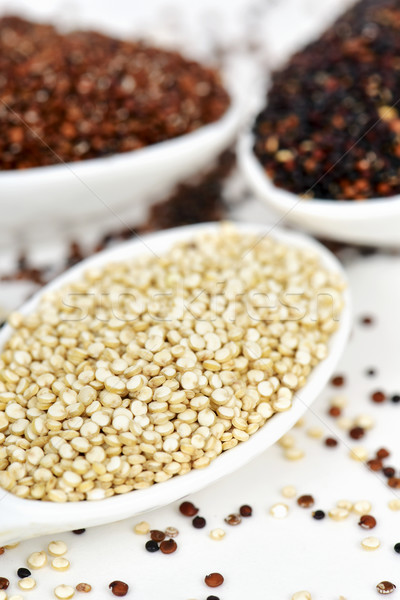 uncooked quinoa seeds of different species Stock photo © nito