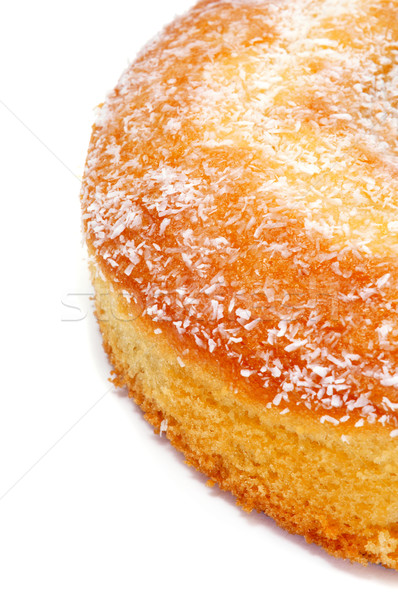 coconut sponge cake Stock photo © nito