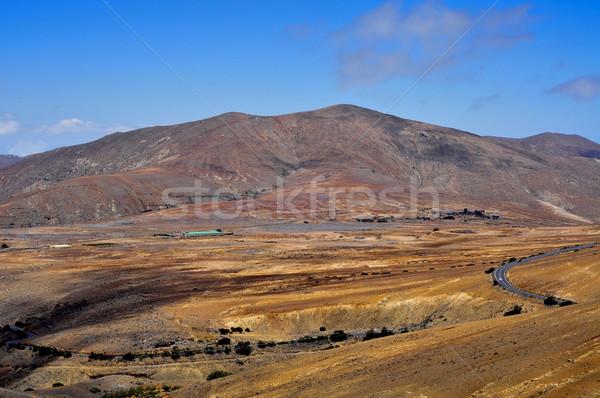 landscape of Fuerteventura, Canary Islands, Spain Stock photo © nito