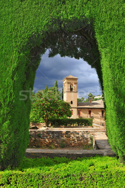 Stock photo: La Alhambra in Granada, Spain