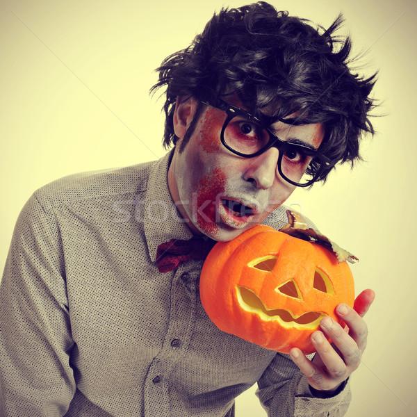зомби ретро эффект очки смешные Сток-фото © nito
