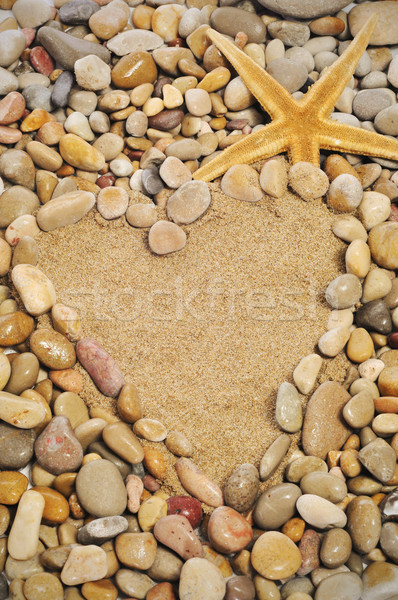 love on the beach Stock photo © nito