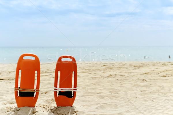 Mentés csendes tengerpart közelkép színes homok Stock fotó © nito