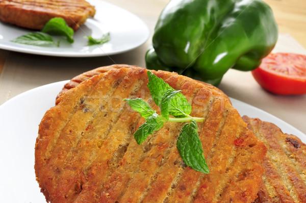 veggie burgers Stock photo © nito
