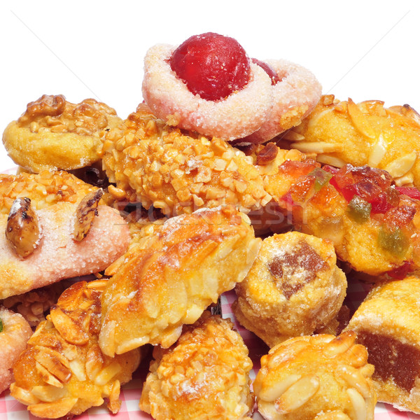 Stock photo: panellets, typical pastries of Catalonia, Spain, eaten in All Sa