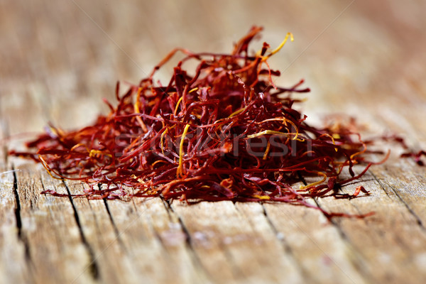 saffron threads Stock photo © nito