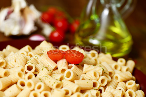 cooked penne rigate Stock photo © nito